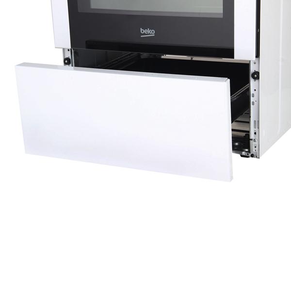 Электрическая плита (50-55 см) Beko MCSE 58302 GW