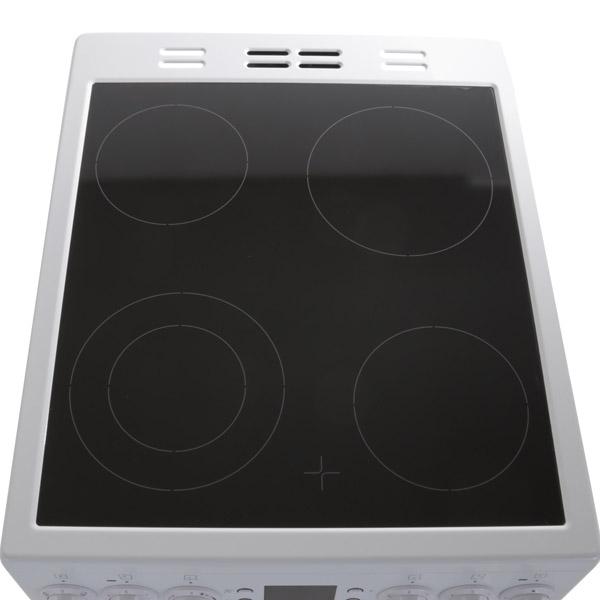 Электрическая плита (50-55 см) Beko CSE 57301 GW