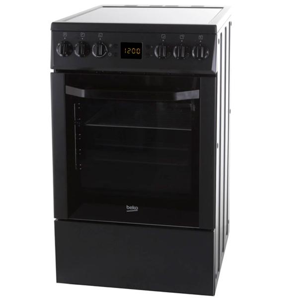 Электрическая плита (50-55 см) Beko CSE 57300 GA