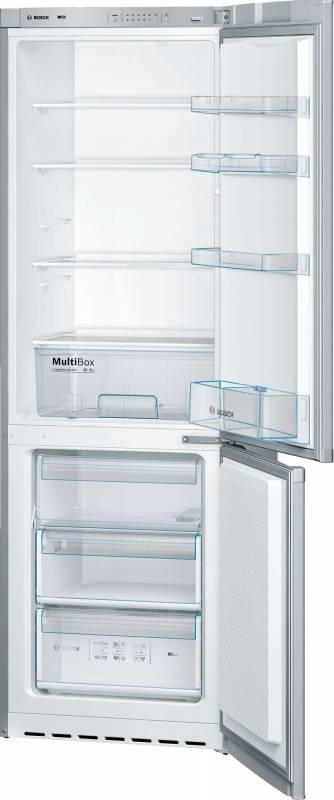 Холодильник Bosch KGV36NL1AR серебристый (двухкамерный)