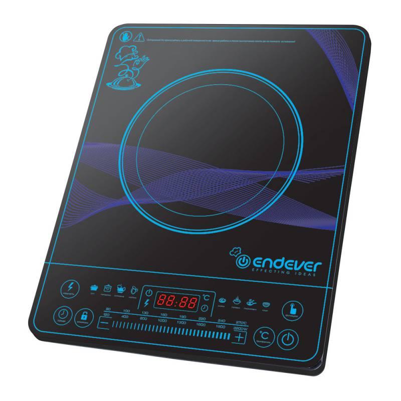 Плита Электрическая Endever Skyline IP-32 черный закаленное стекло (настольная)