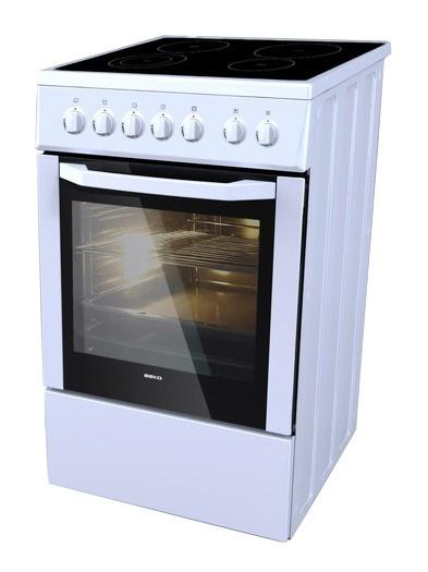 Плита Электрическая Beko CSE57100 GW белый