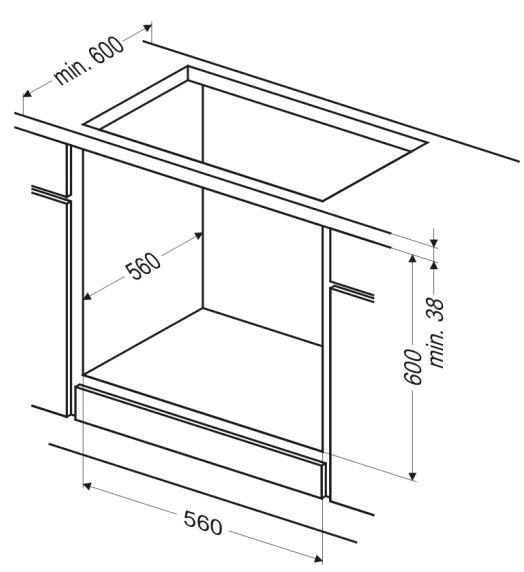 Духовой шкаф Электрический Hansa BOEI64111 нержавеющая сталь