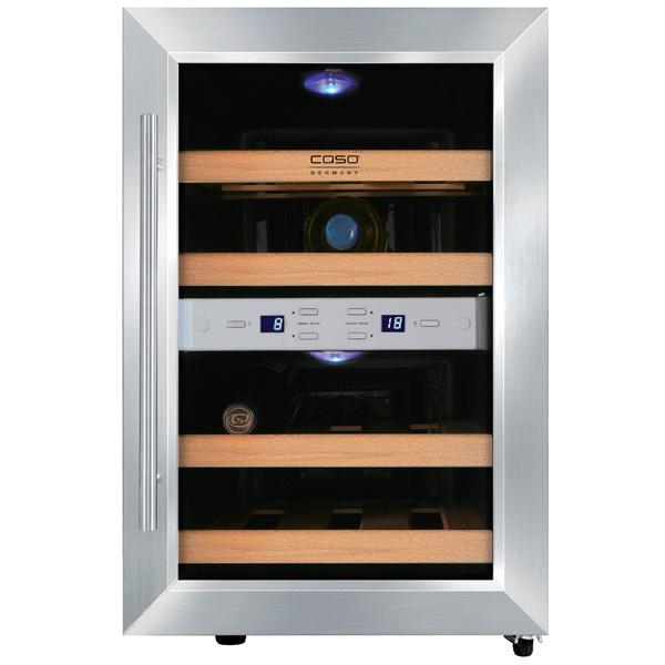 Винный шкаф до 140 см Caso WineDuett 12