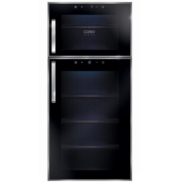 Винный шкаф до 140 см Caso WineDuett Touch 21