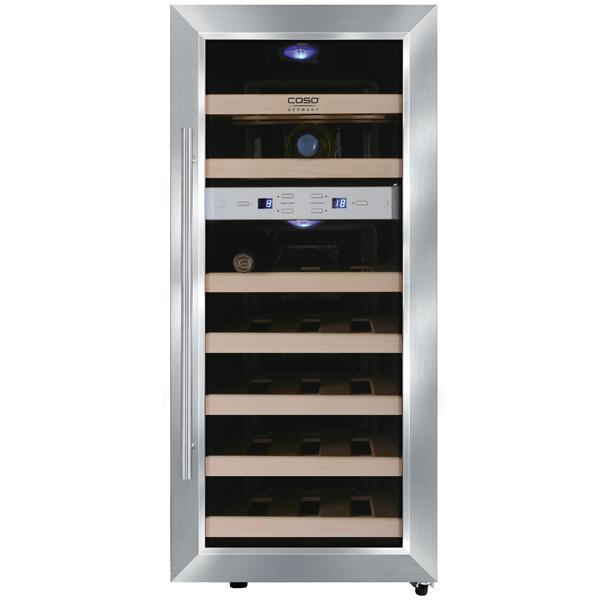 Винный шкаф до 140 см Caso WineDuett 21