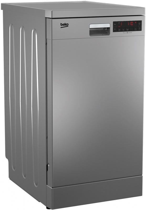 Посудомоечная машина Beko DFS25W11S серебристый (узкая)