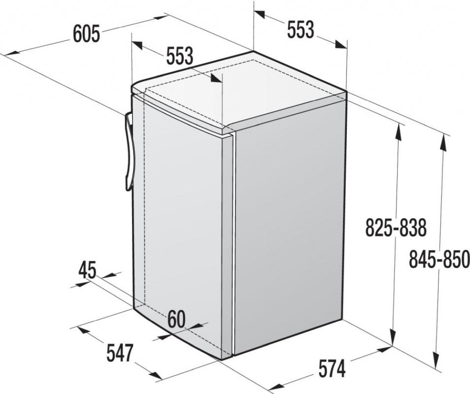 Холодильник Gorenje RB4091ANW белый (однокамерный)