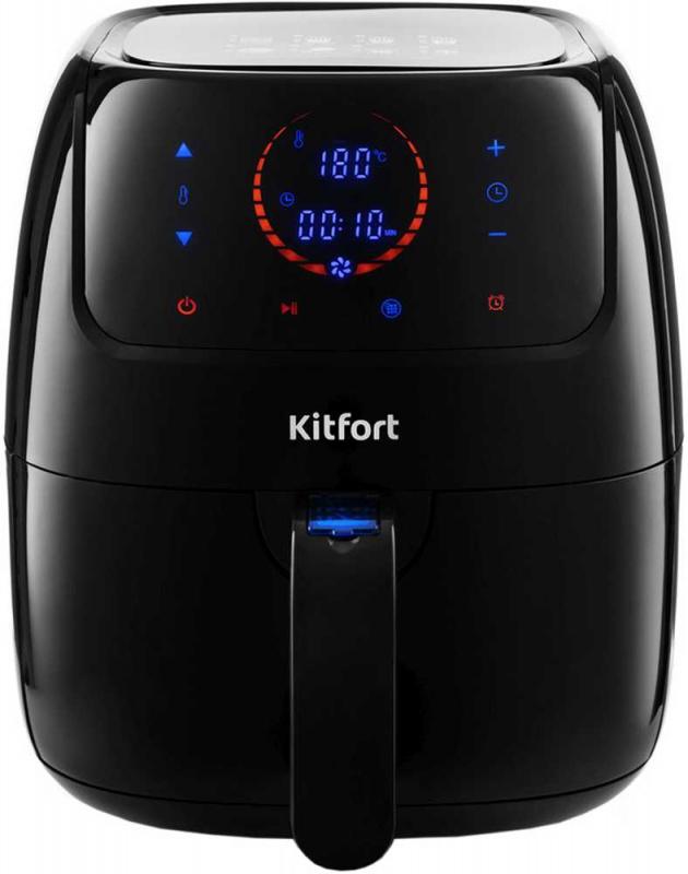 Аэрогриль Kitfort KT-2210 1400Вт черный