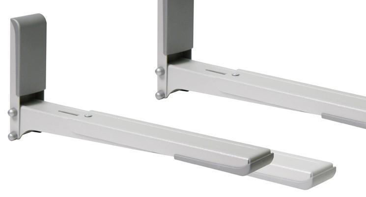 Кронштейн для СВЧ Holder MWS-2003 металлик макс.40кг настенный фиксированный