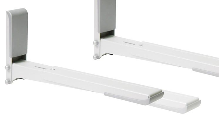 Кронштейн для СВЧ Holder MWS-2003 белый макс.40кг настенный фиксированный
