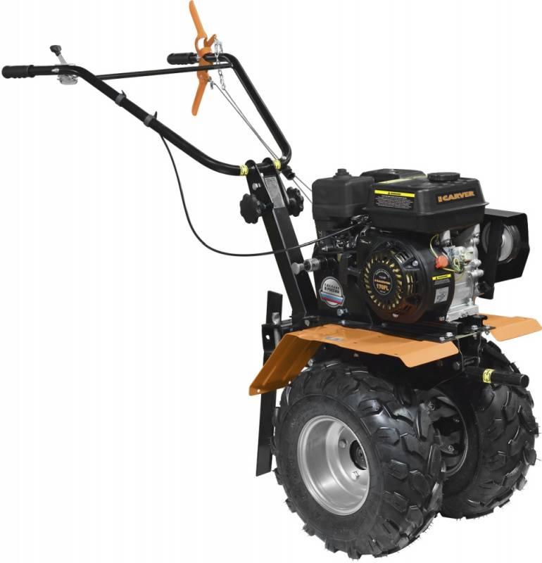 Мотоблок Carver МТ-701W (01.006.00028) бензиновый 5кВт 7л.с.