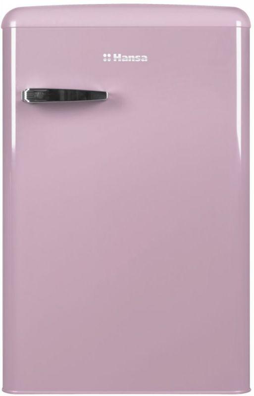 Холодильник Hansa FM1337.3PAA розовый (однокамерный)