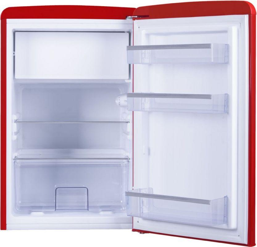 Холодильник Hansa FM1337.3RAA красный (однокамерный)