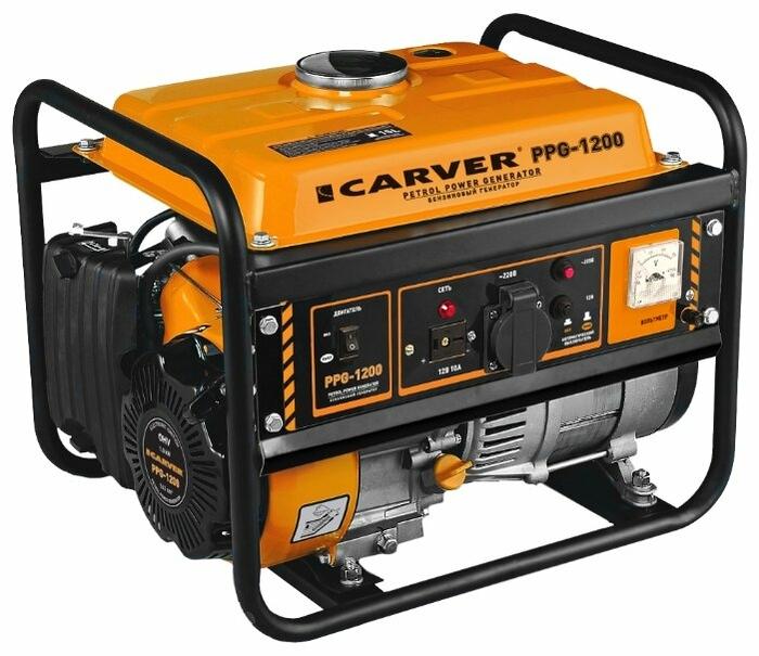 Генератор Carver PPG- 1200 1.05кВт