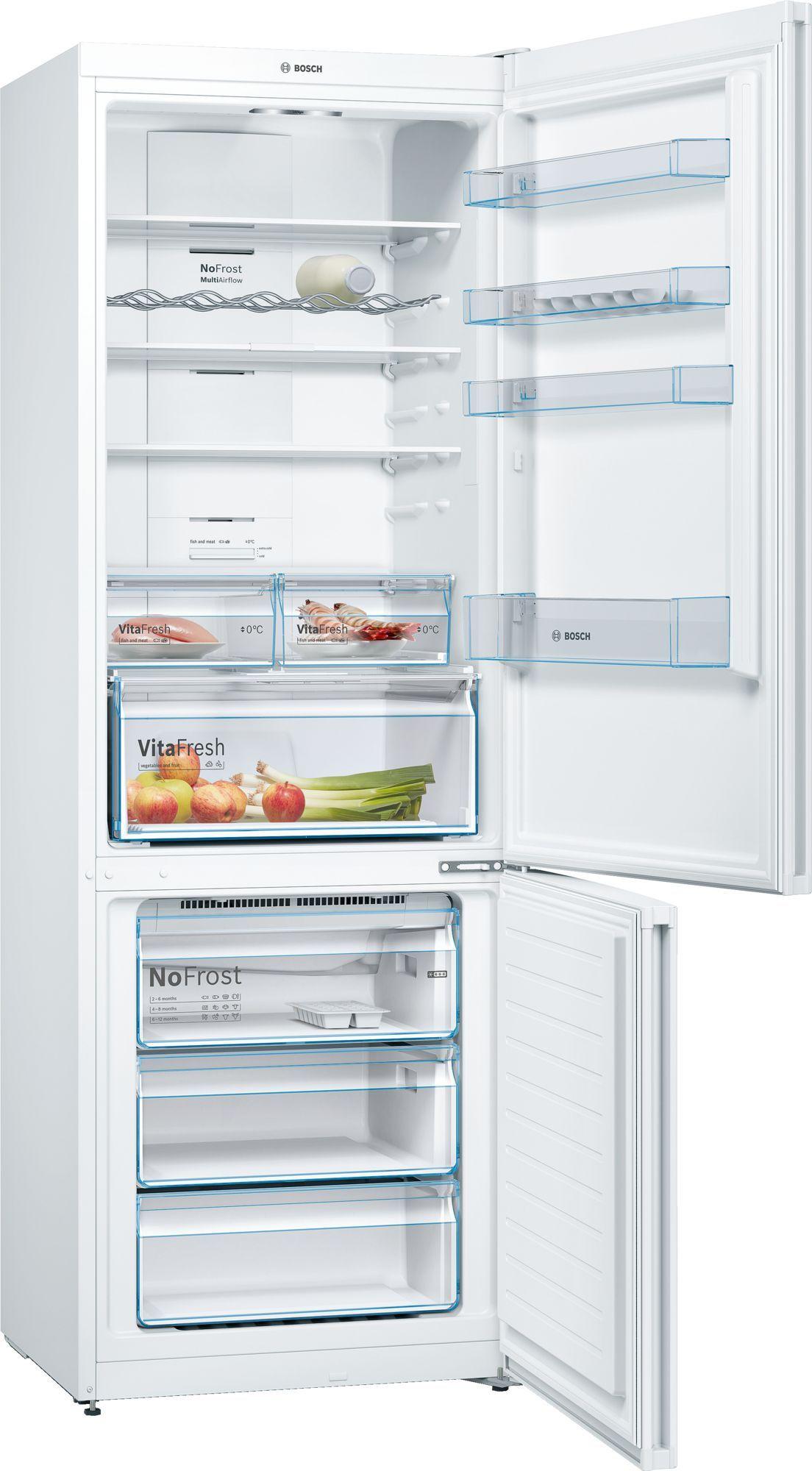 Холодильник Bosch KGN49XW20R белый (двухкамерный)